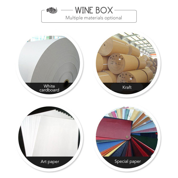 custom wine carton packaging box