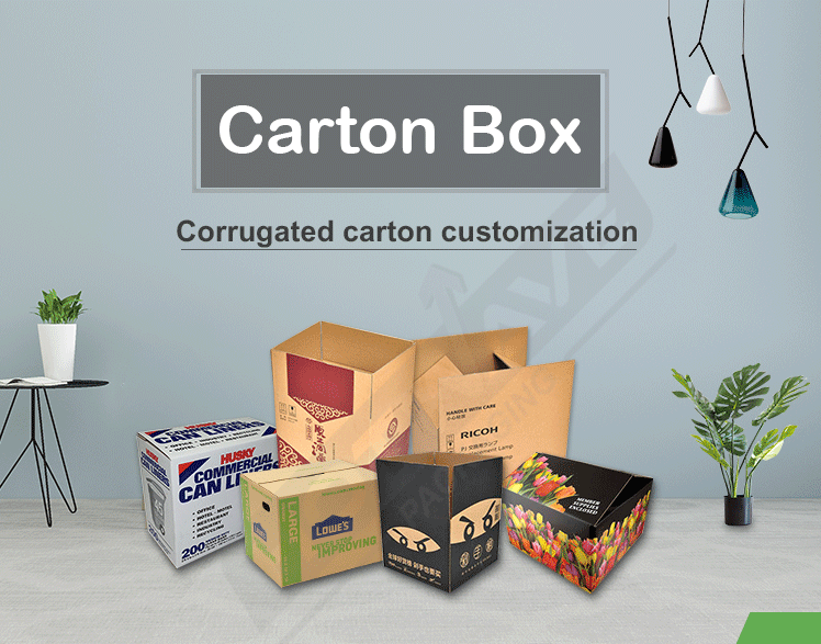 customized size carton box
