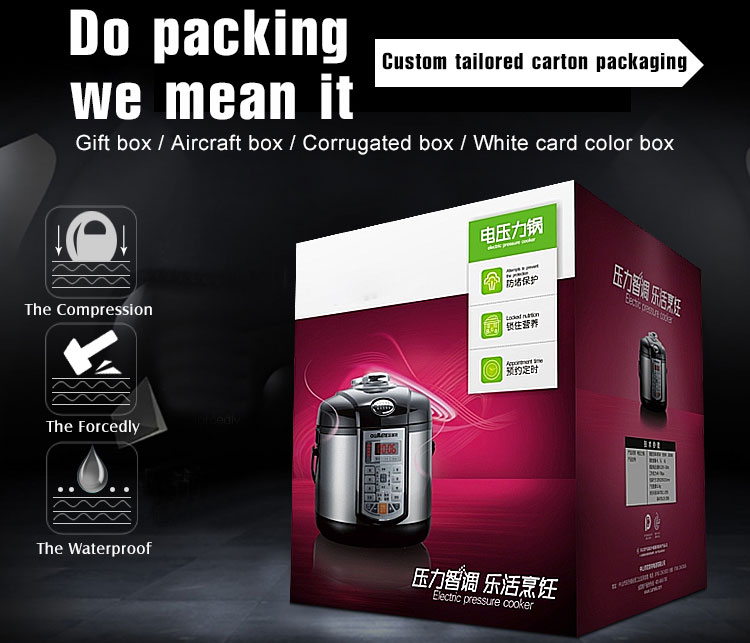color printed mailer box