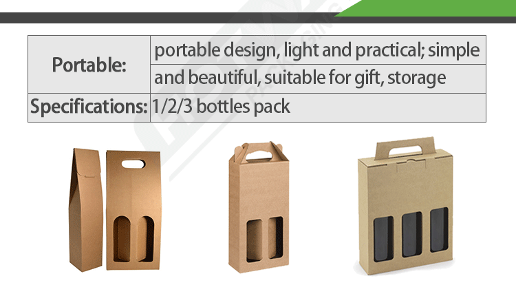 wine carrier packaging box